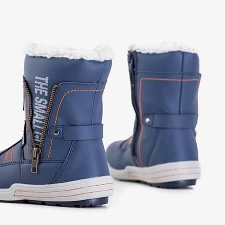 OUTLET Сині хлопчачі снігові черевики Бенін - Взуття