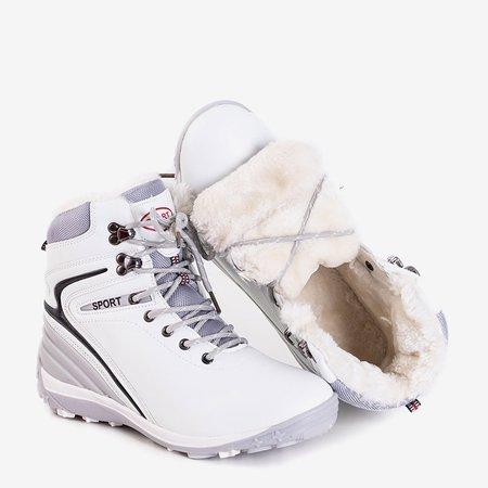Жіночі білі утеплені черевики Nister - взуття