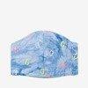 Дитяча синя тришарова маска для обличчя - Маски 1