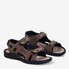 Темно-коричневі чоловічі босоніжки Brendon- Взуття 1